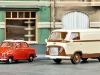 Wiking hat in den letzten jahren die Ausführungsqualität der Neuheiten ständig verbessert: Goggomobil mit Faltdach und Ford FK 1000; Foto: RZ