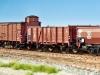 """Das Brawa-Set """"Güterverkehr der fünfziger Jahre"""" in H0 enthält (endlich!) einen G 10 mit gekürztem Bremserhaus, einen Europ-DB-Wagen Omm 52 und einen Om 21."""