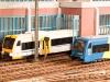 MDVR: Zu einem der Bahnhöfe gehört das moderne Betriebswerk zur Wartung von Privatbahn-Dieselloks und -triebwagen; Foto: David Tom Wörden