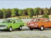 Drummer (Vertrieb Brekina): VW Passat Variant und Audi 80 der ersten Generation in H0. Foto: RZ