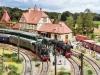 """H0-Segmentanlage der Modellbahnfreunde Leutkirch auf der """"Modellbahn"""" in München; Foto: FZ"""