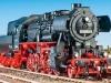 Das Arbeitstier der Deutschen Reichsbahn neu von Roco: die 52.80; Foto: jsk