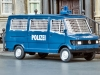 Polizeibus von Wiking in H0; Foto: rz