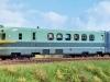 Fulgurex zeigte dieses Jahr den fertig lackierten Schnelltriebwagen XF 1001 der SNCF.