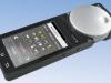 Der neue kabellose Handregler von ESU mit Drehknopf und Touchbildschirm • Foto: Werk