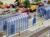 Moderne Zugwaschanlage von Faller