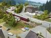 Die Rurtalbahn als N-Segmentanlage | Foto: Jürgen Wisckow