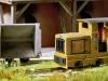 Das Modellbahnthema 2012: Feldbahn! Das Foto zeigt die Gmeinder-Lok 15/18 in brauner Farbgebung, die Busch exklusiv für unsere Leser produziert. Foto. Frank Zarges
