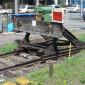 Rawie-Prellbock im Bahnhof Singen (Htwl.)