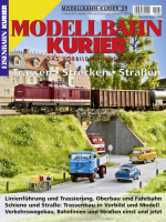 Modellbahn-Kurier 39: Trassen – Strecken – Straßen